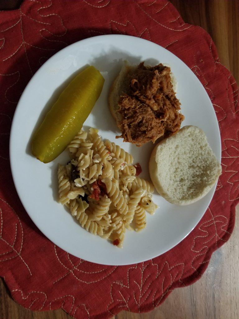 Easy BBQ Chicken Sandwich