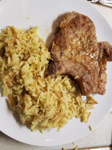 Pan Fried Pork Chops