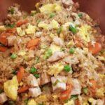 The Best Fried Rice Ever cooked and ready to serve
