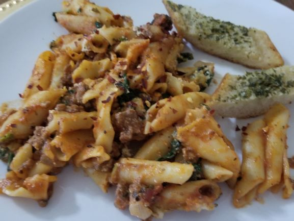 Baked Rigatoni with Bolognese